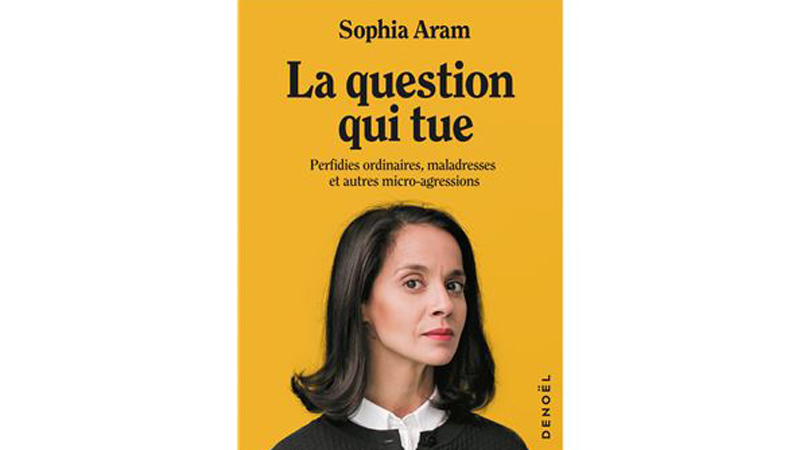 Visuel livre Sophia Aram - La question qui tue