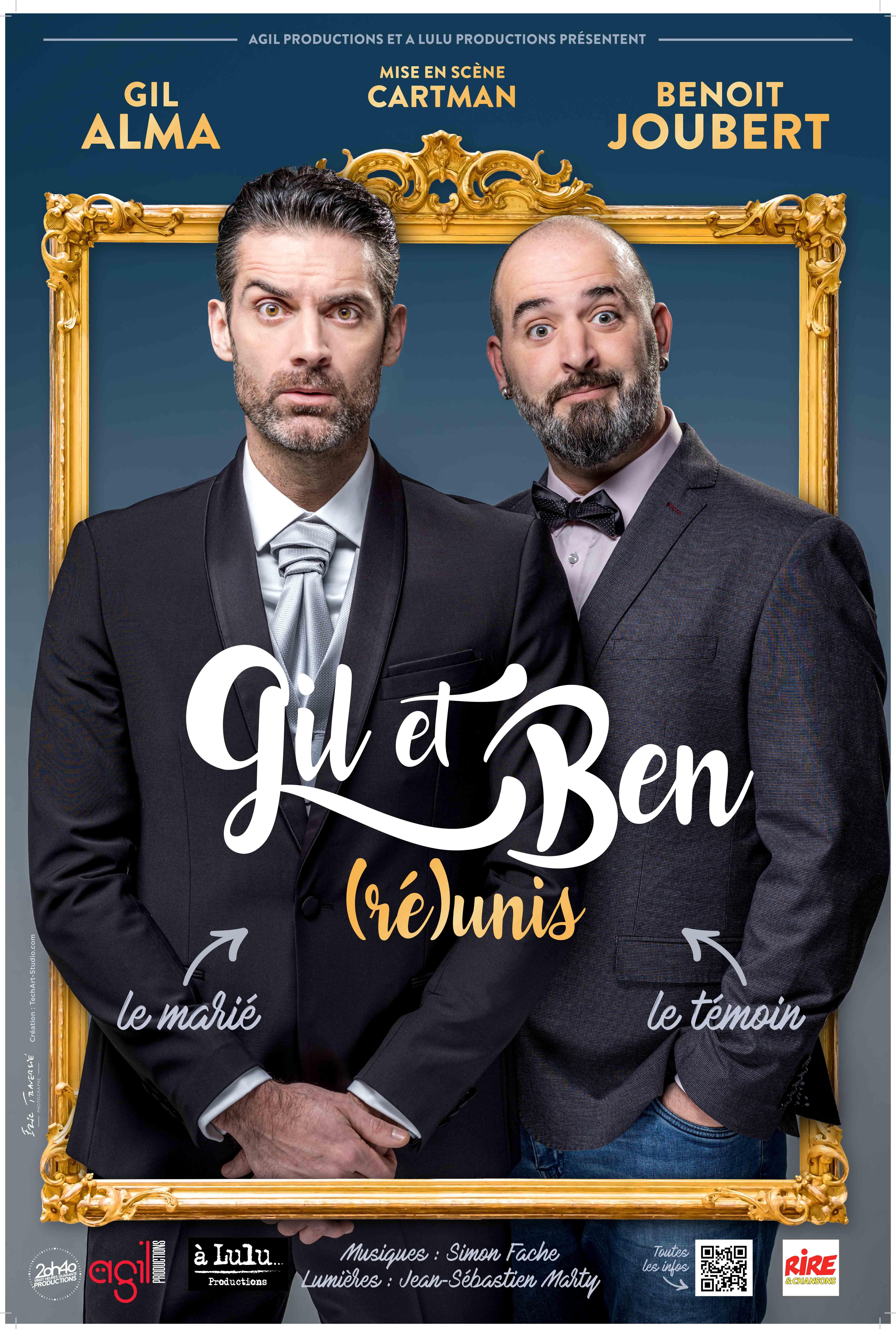 affiche Gil et Ben tournée reunis site 20h40
