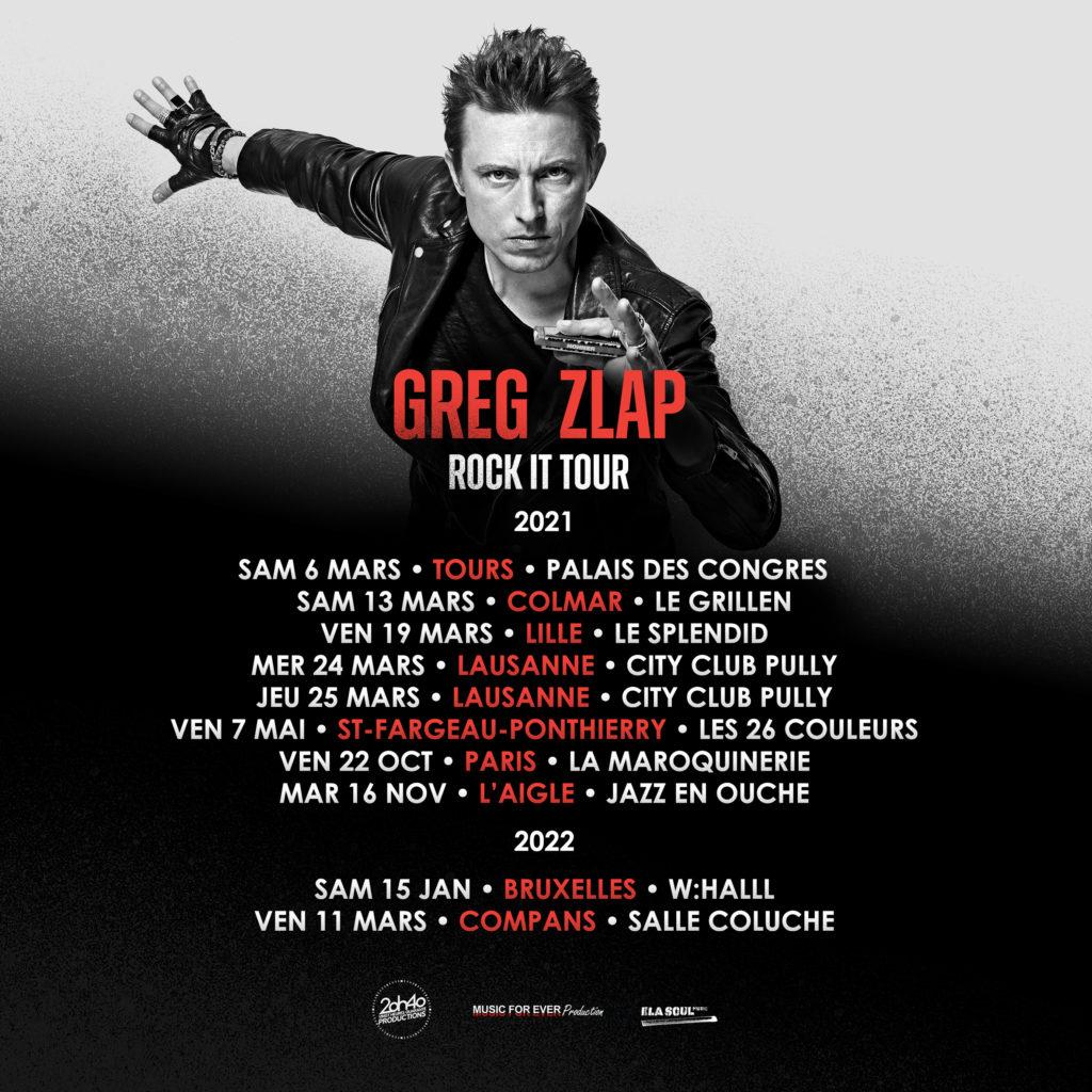 vignette greg zlap rock it tour decembre 2020