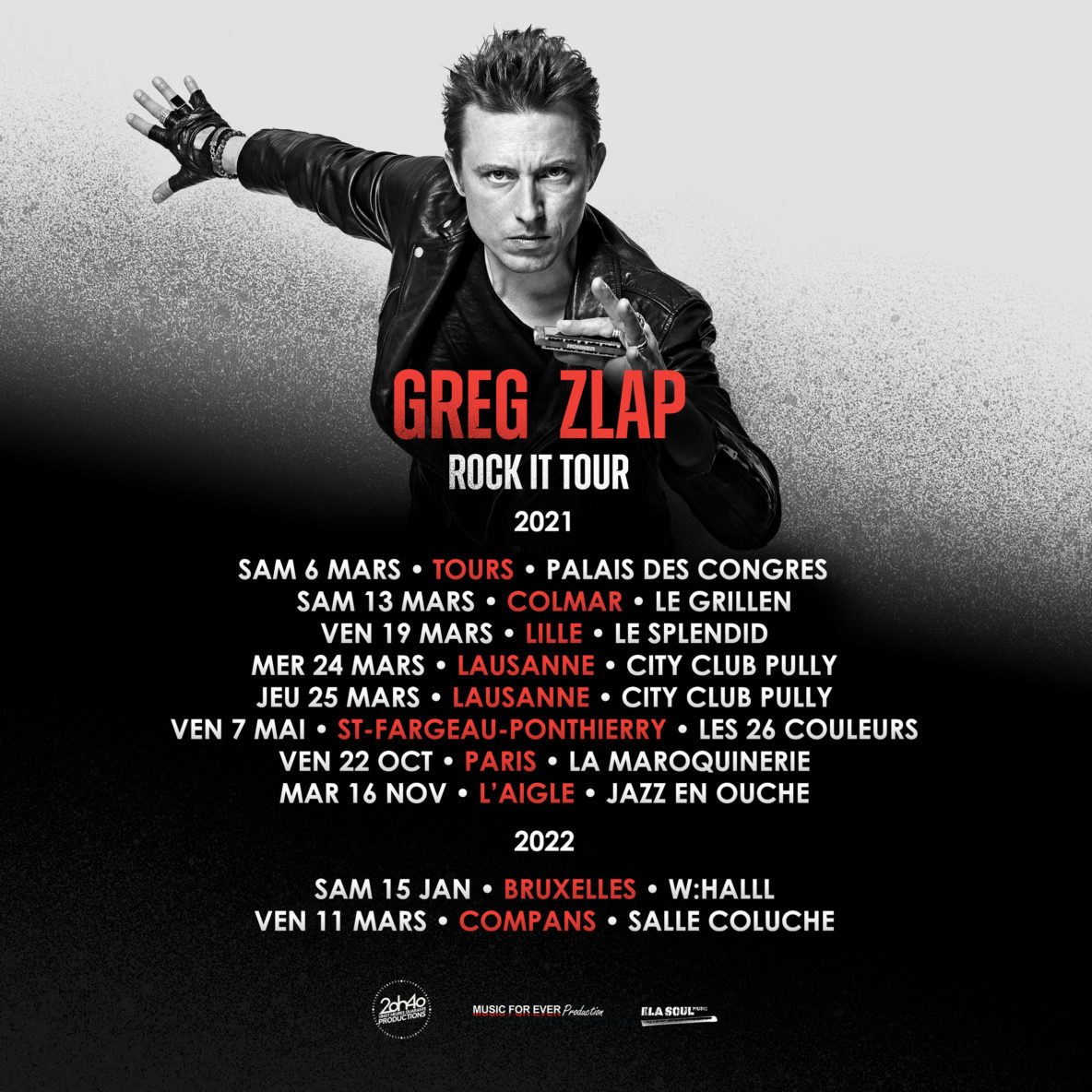 vignette greg zlap rock it tour decembre 2020