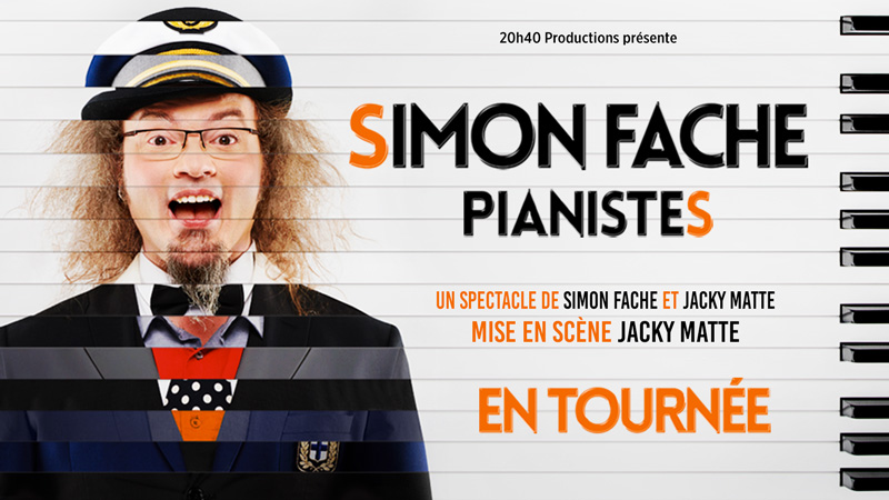 Simon Fache Pianistes 20h40